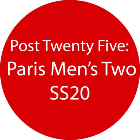 Paris Men's 2 SS20