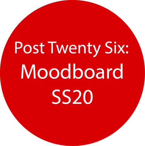 Moodboard SS20