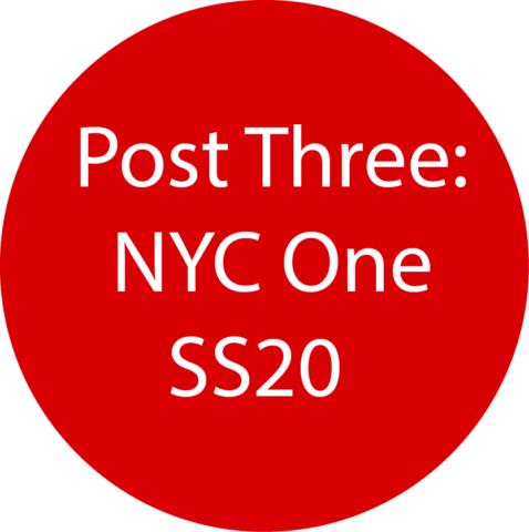 New York 1 SS20