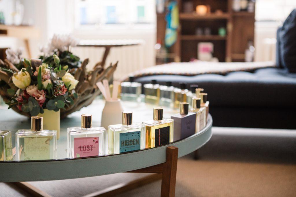 range of perfumes from Miller Harris