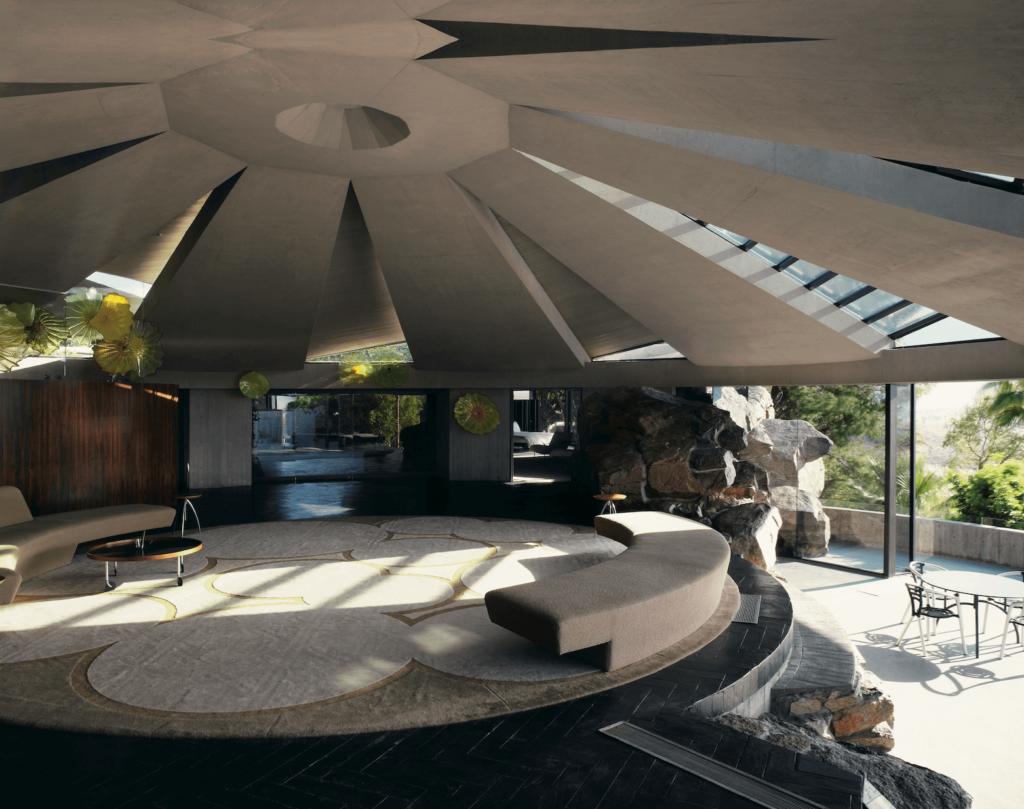 John Lautner. Elrod Residence, Palm Springs, California , Architecture