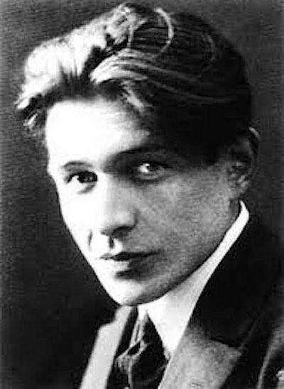 The author, Gaïto Gazdanov in Paris, 1920's