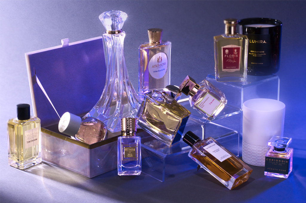 perfumes and candles