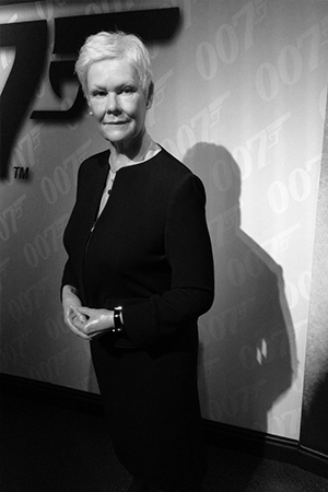 Judi Dench portrait  coming of age