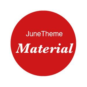 June Theme – Material